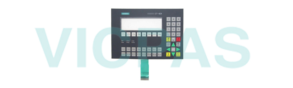 6ES7624-1DE01-0AE3 Siemens SIMATIC HMI C7-624 Membrane Keyboard Plastic Repair Replacement