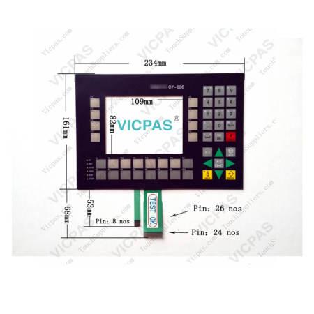 6ES7626-2AG00-0AE3 Siemens SIMATIC C7-626 Membrane Keypad