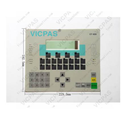 6ES7633-1DF02-0AE3 Siemens SIMATIC C7 633 Membrane Keypad