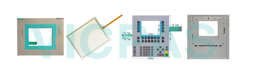 6AG1635-2SB02-4AC0 Siemens SIMATIC HMI C7-635 Touchscreen Membrane Keyboard Plastic Shell Repair Replacement