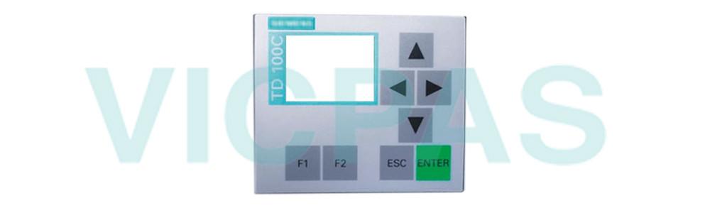 6ES7272-1BF00-7AA0 Siemens SIMATIC HMI TD100C Membrane Keyboard Switch Repair Replacement