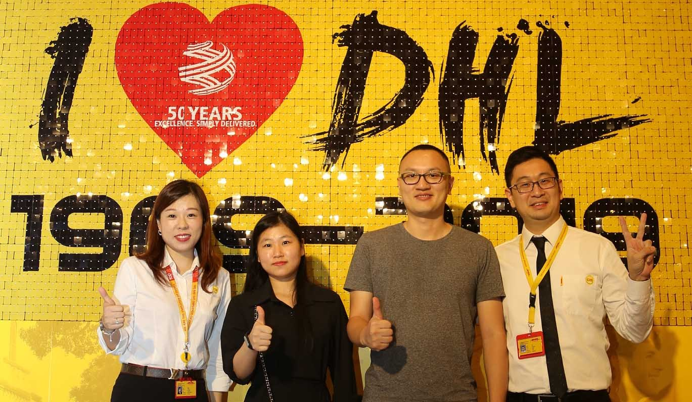 DHL Invited VICPAS to the 50th Anniversary as the outstanding Customers