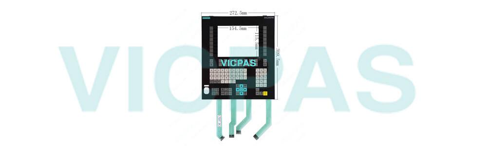 6FC5248-0AF04-1BA0 Siemens SIMATIC HMI OP08T OP 08T OPERATOR PANEL Membrane Keyboard and Plastic Case Shell Repair Replacement