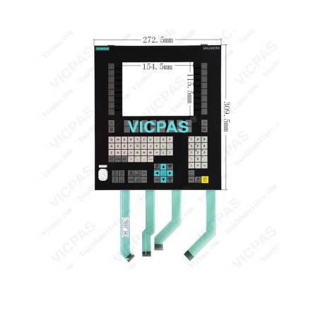 6FC5248-0AF04-1BA0 Siemens SIMATIC OP08T Membrane Keyboard