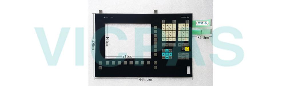 6FC5203-0AF10-1AA0 Siemens SINUMERIK HMI OP010FS OPERATOR PANEL Membrane Keyboard and Plastic Case Shell Repair Replacement