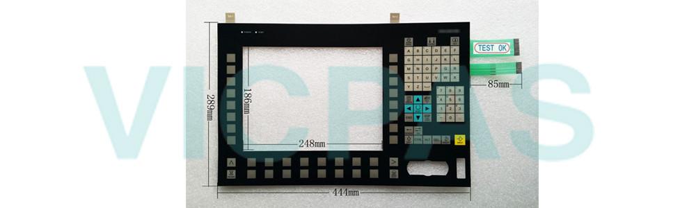 6FC5203-0AF52-0AA0 Siemens SINUMERIK HMI OP012 OPERATOR PANEL Membrane Keyboard and Plastic Case Shell Repair Replacement