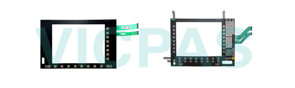 6FC5203-0AF50-0AA0 Siemens SINUMERIK HMI OP015 OPERATOR PANEL Membrane Keyboard and Plastic Case Shell Repair Replacement