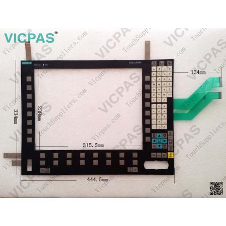 6FC5203-0AF50-0AA0 Siemens OP 015-416C Membrane Keyboard