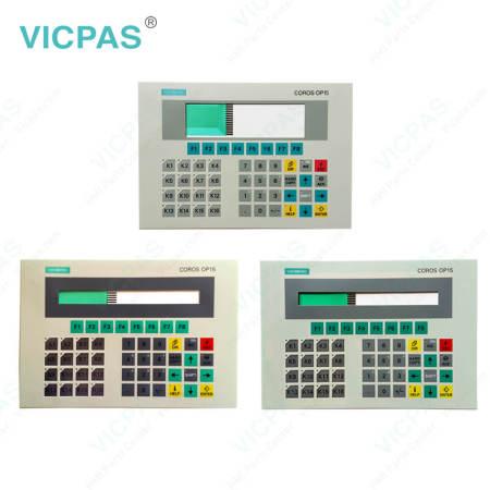 6AV3515-1MA01 Siemens Operator Panel OP15 Membrane Switch