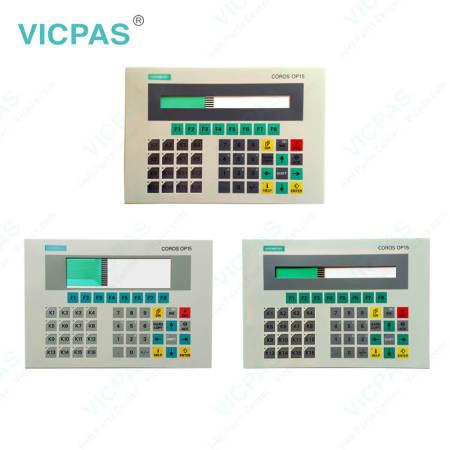 6AV3515-1MA32 Siemens Operator Panel OP15 Membrane Keyboard