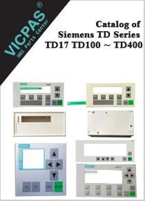 Simatic TD17 TD100~TD400 Parts Catalog