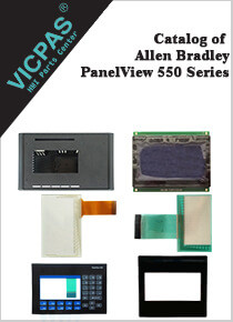 Allen Bradley Panelview 550 series catalog pdf