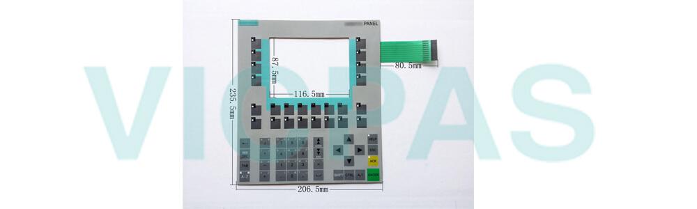 6AV6 542-0BB15-2AX0 Membrane Keypad Keyboard for 6AV6542-0BB15-2AX0 OP170B