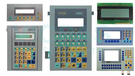 ESA Graphic terminal membrane keypad lcd display