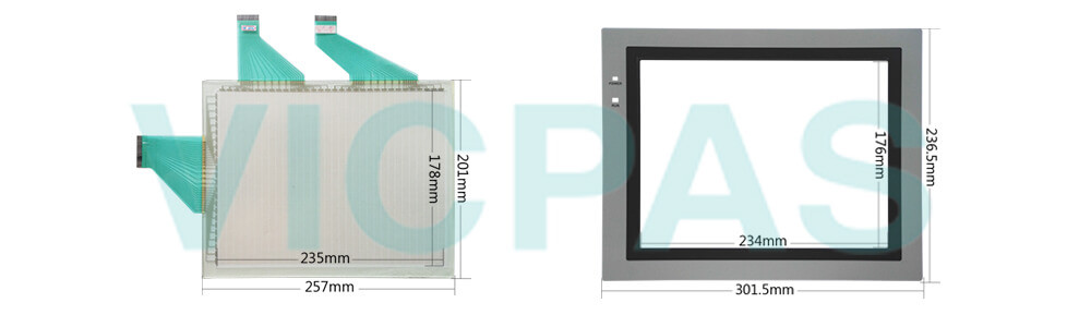 Omron NT631C series HMI NT631C-ST141-E Touch panel,Protective film and Display Repair Kit.