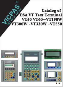 ESA VT Text Terminals Catalog