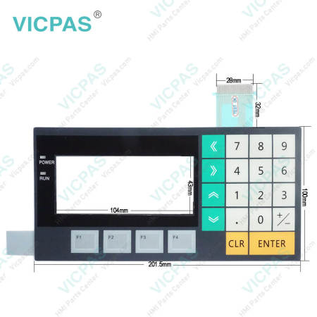 NT11-SF121B-ECV1-CH Omron NT11 Operator Panel Keyboard
