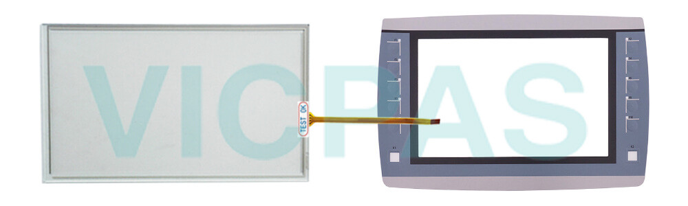 6AV2125-2JB23-0AX0 Simens Simatic HMI KTP900F Basic Touchscreen Panel Glass, Overlay and LCD Display Repair Replacement