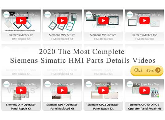 Siemens HMI Parts Videos