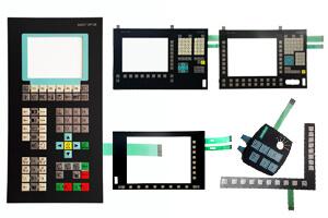 Pantalla de Cristal para Siemens Simatic KTP600 6AV6647-0AD11-3AX0 Teclado De Membrana