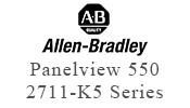 Allen Bradley Panelview 550 2711-k5 case