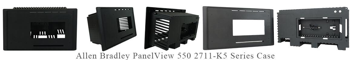 Allen Bradley Panelview 550 2711-k5 series Case