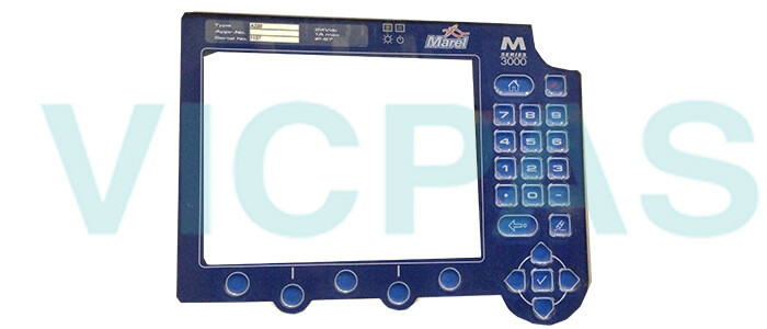 Marel M Series 3000 Controller Membrane Keypad Switch Repair Replacement