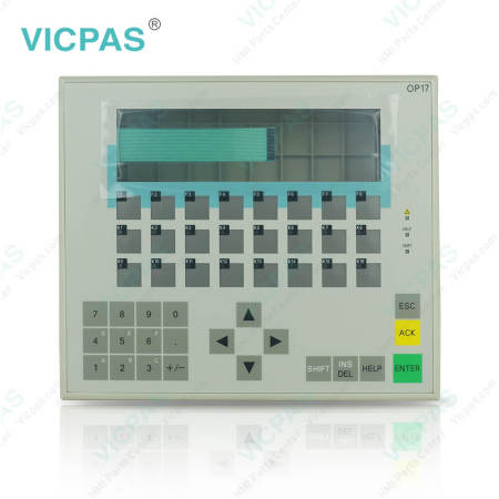 6AV3617-1JC00-0AX2 Siemens Operator Panel OP17 Membrane Switch
