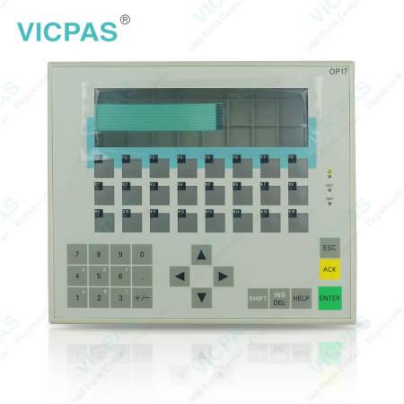 6AV3617-4EB42-0AA0 Siemens Operator Panel OP17 Membrane Switch