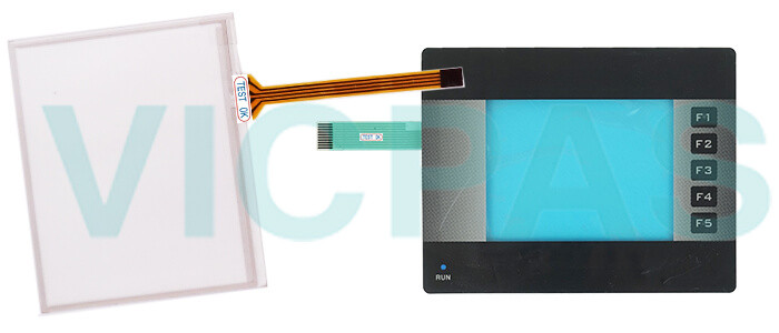 Omron NQ3 series HMI NQ3-TQ000-B Touch Panel,Membrane Keyboard, Display and Protective Film Replacement