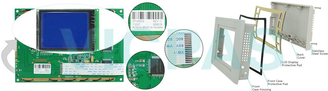 6AV6 642-8BA10-0AA0 Siemens SIMATIC HMI TP177B PN/DP COLOR INOX 6AV6642-8BA10-0AA0 Touch Screen Panel, Overlay, Front Cover and LCD Display Repair Replacement