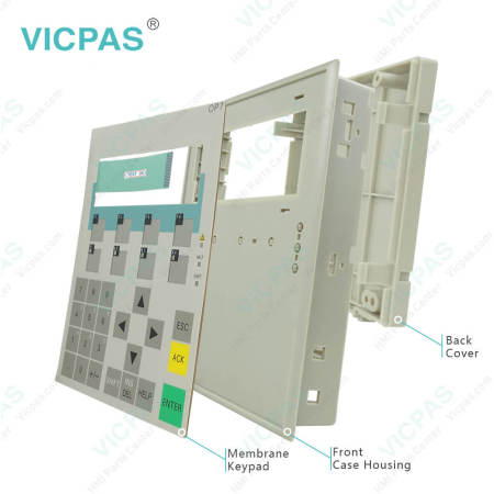 For Siemens Simatic Operator Panel OP7 Keypad and Case Replacement
