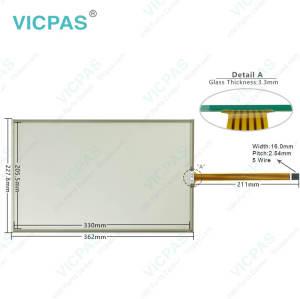 6AV2124-0QC24-0BX0 Siemens HMI TP1500 Comfort Touch Panel