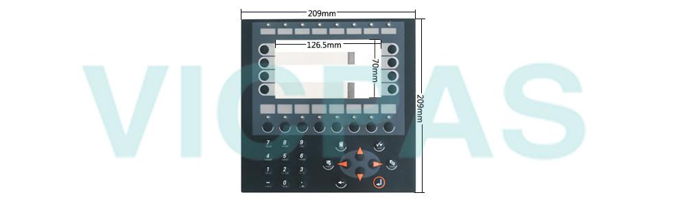EBeijer E600 Operator Panel Membrane Keyboard Repair Replacement