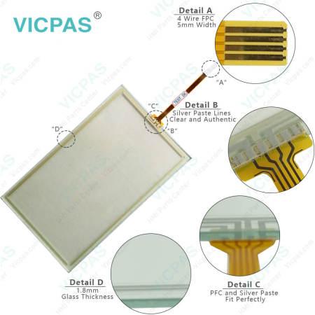 6AV2123-2GA03-0AX0 Simatic HMI KTP700 Basic DP Touchscreen