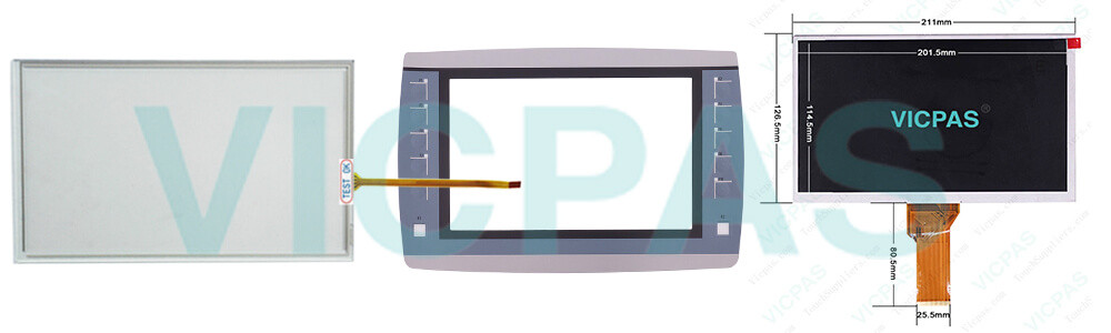 6AV2125-2JB23-0AX0 Simens Simatic HMI KTP900F Basic Touchscreen Panel Glass, Overlay and LCD Display Repair Replacement