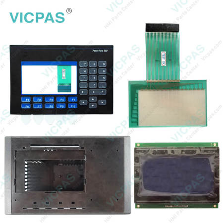 2711-B5A9L1 Touch Screen Panel with Membrane Keypad