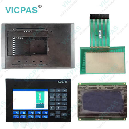 2711-B5A12 Touch Screen Panel with Membrane Keypad