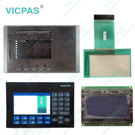 2711-B5A1L1 Touch Screen Panel with Membrane Keypad