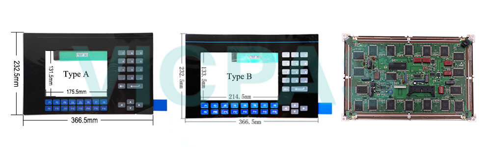 2711-K9A3L1 PanelView 900 Membrane Keyboard Keypad Swtich LCD Display Repair Replacement