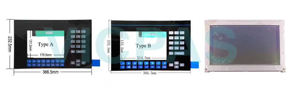 2711-K9A9L1 PanelView 900 Membrane Keyboard Keypad Swtich LCD Display Repair Replacement