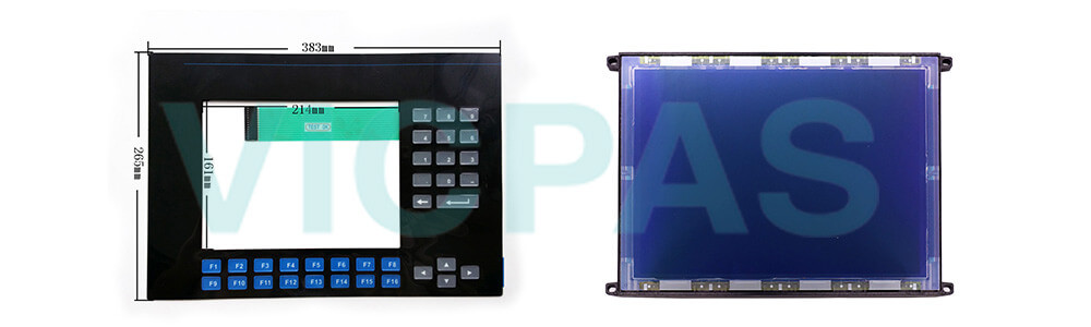 2711-K10C16 PanelView 900 Membrane Keyboard Keypad Swtich LCD Display Repair Replacement