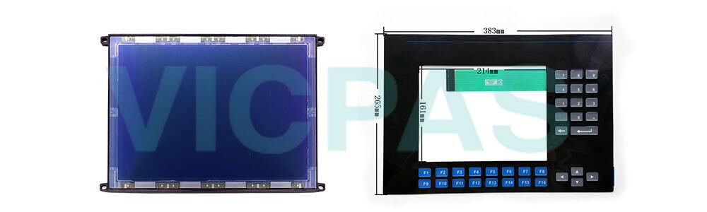 2711-K10C3 PanelView 900 Membrane Keyboard Keypad Swtich LCD Display Repair Replacement