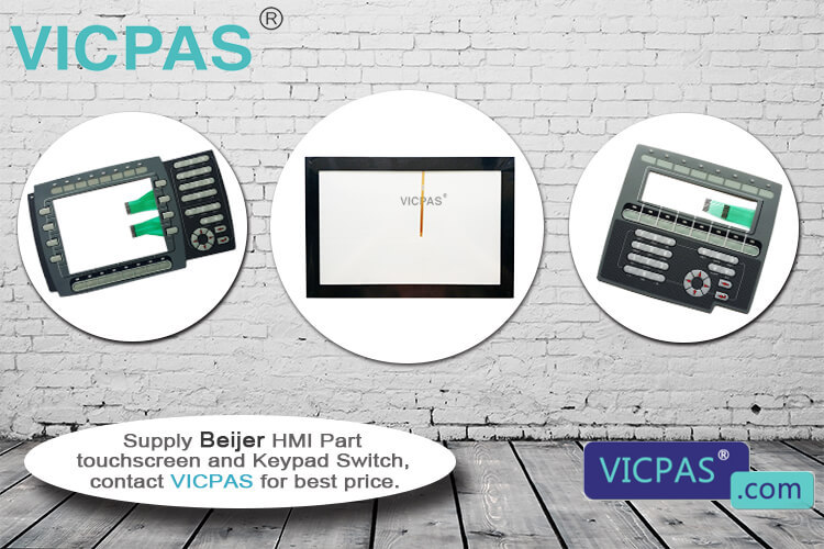 Beijer HMI EPC TU190-st Touchscreen Repair Replacement