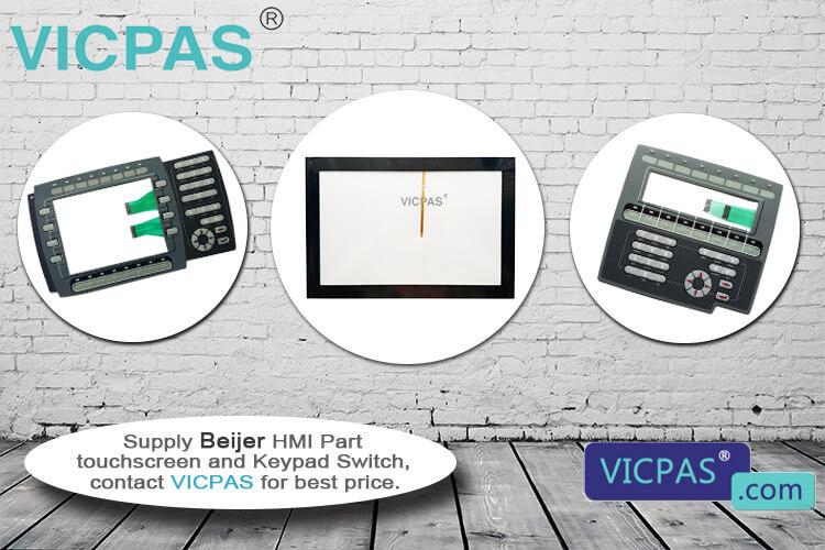 Beijer HMI EPC T100 LX Touchscreen Repair Replacement