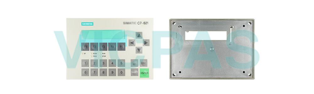 6ES7621-6BD01-0AE3 Siemens SIMATIC HMI C7-621 Membrane Keyboard Plastic Repair Replacement
