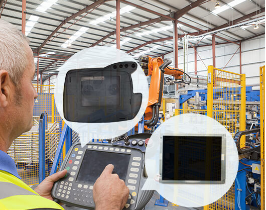 vicpas supply lcd display for hmi repair