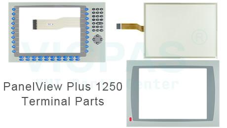panelview plus 1250 terminal Parts repair