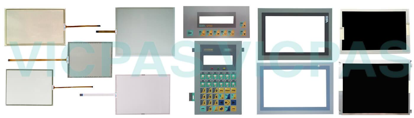 ESA Touchscreen Terminal EW112AA0DP Touch Screen Repair Replacement