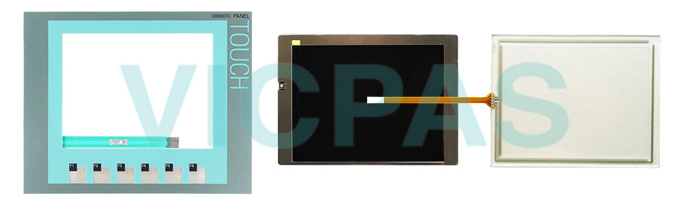 6AG1647-0AD11-2AX0 Siemens SIPLUS KTP600 BASIC COLOR PN Touchscreen Panel Glass, Overlay and LCD Display Repair Replacement